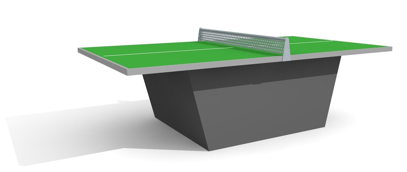 Table De Ping Pong Box Armature En Acier Vert Produits Jouer